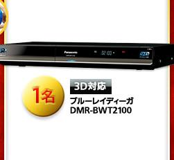 3D対応 ブルーレイディーガ DMR-BWT2100 1名