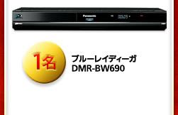 ブルーレイディーガ DMR-BW690 1名