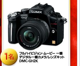 フルハイビジョン・ムービー 一眼 デジタル一眼カメラ/レンズキット DMC-GH2K 1名